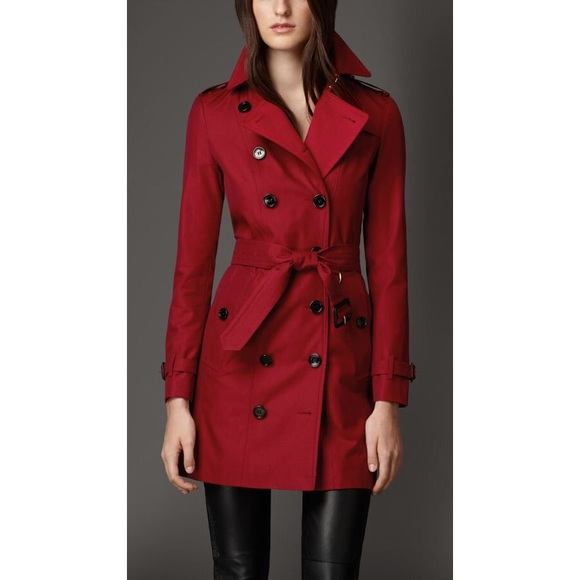 Jackets & Blazers - 🌸SPRING SALE🌸red vintage trench coat